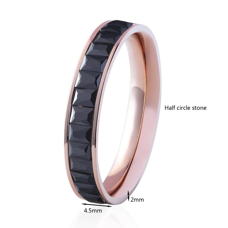Вища якість титанова сталь 4 кольори - Модні прикраси - фото 3