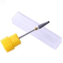 UR SUGAR Carbide Nail Drill Bit Cutter Cuticle Remover Cuspidal Grinding Polish Manicure Machine Nail Art