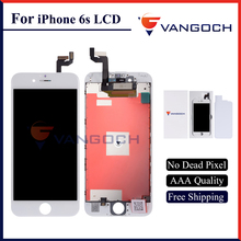5PCS AAA Quality No Dead Pixel Display for iPhone 6s LCD Replacement with 4.7 inch 3D Touch Screen Free Shipping