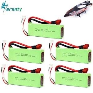 Батарея Lipo для FT010 FT011, 2800 мА/ч, 14,8 в, батарея с дистанционным управлением, 4S, 14,8 в, 30C, 803496, 14,8 в