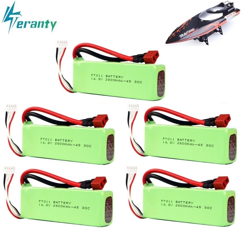 Lipo Batterie Für FT010 FT011 2800 mah 14,8 v BATTERIE RC 4 s 14,8 v 30C 803496 RC boot RC hubschrauber Flugzeuge Auto Quadcopter 14,8 v