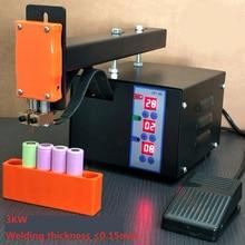 3 кВт Ручной Аккумуляторный блок точечной сварки 18650 Аккумуляторный блок сварочный аппарат 110 В/220 В