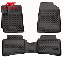 Floor mats for Suzuki Kizashi 2010- 4 pcs rubber rugs non slip rubber interior car styling accessories