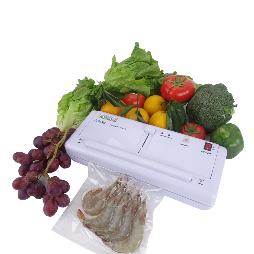 Plastic Bag Vacuum Sealing Machine 220V Shrinker Tool Household Vacuum Bag Sealer DZ-280 цены