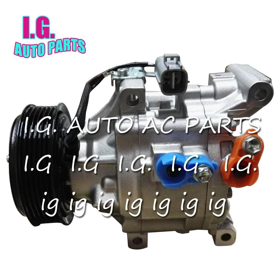 Scsa06c Auto Ac Compressor For Toyota Corolla 14 16 20 88310 Kompresor Daihatsu Gran Max Denso 02182 02251 02320 1a582 88320 1a481 In Air Conditioning Installation From
