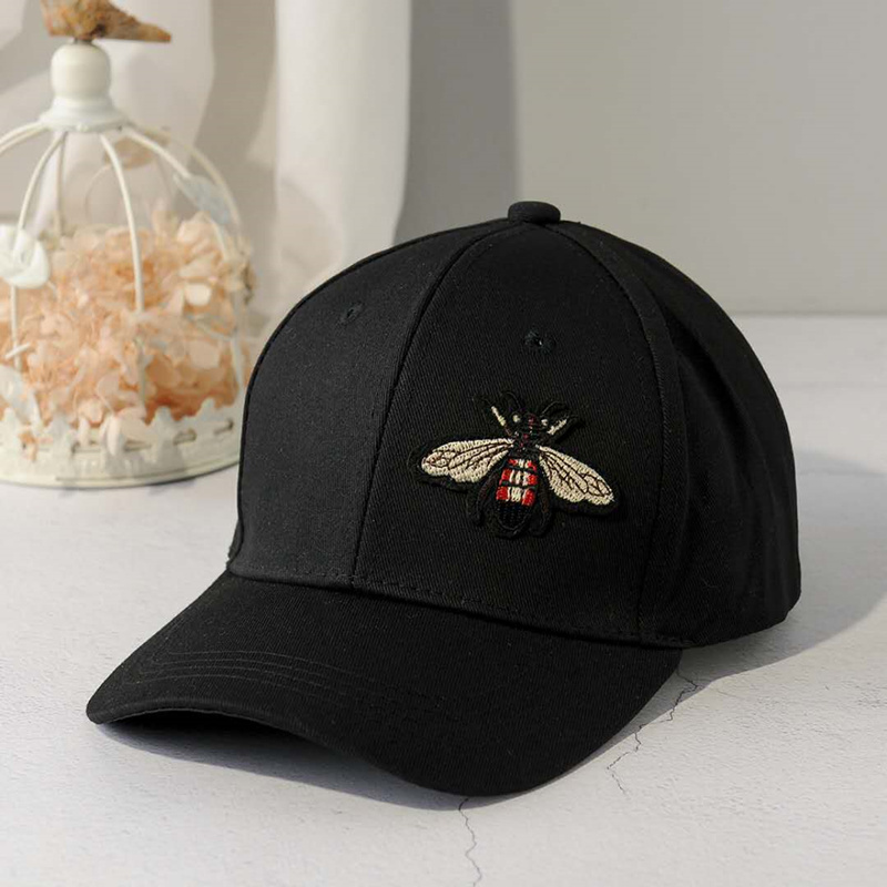 New Fashion Black Couple Butterfly   Baseball     Cap   Girls and Men Snapback Hip Hop Sun Hat