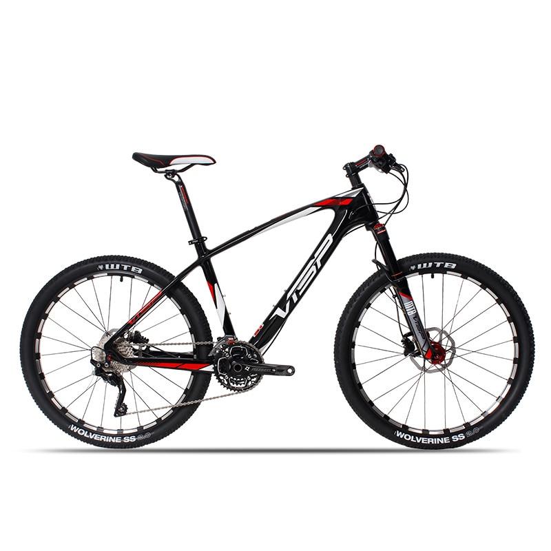 26 düymlük karbon lif dağ velosipedi 30 sürət 33 sürət - Velosiped sürün - Fotoqrafiya 2