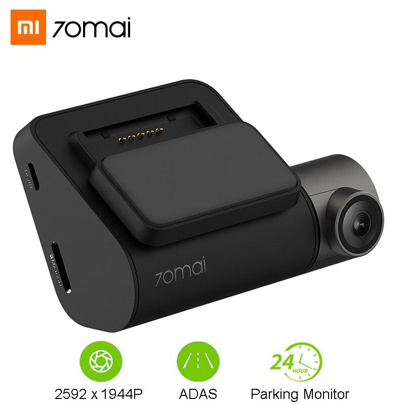 Xiaomi 70mai Câmera Do Carro DVR Traço Cam Pro Inteligente Wifi 1944P GPS ADAS 70 Mai Traço Monitor de Câmera de Estacionamento g-sensor de Gravador De Vídeo