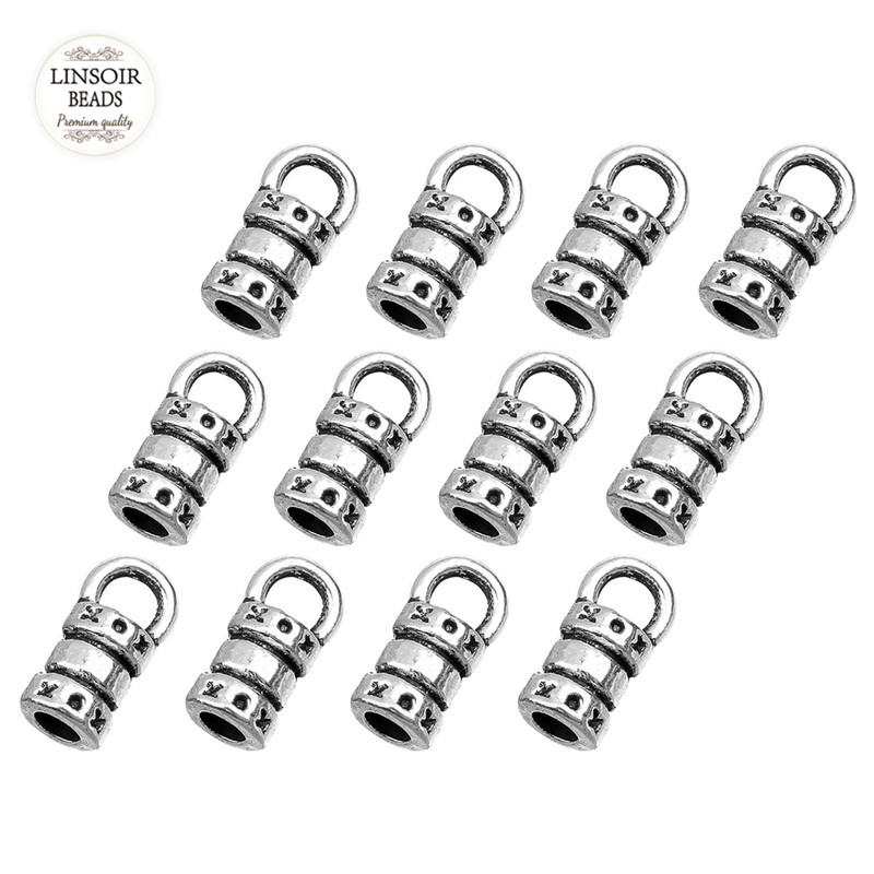LINSOIR 100pcs/lot Antique Silver Bead Caps 2mm Tassels End Caps Fit DIY Handmade Leather Cord Necklace Jewelry Making Findings 100pcs lot mmbt3906wt1g trans gp ss pnp 40v sot323 mmbt3906wt1g 3906 mmbt3906 mmbt3906w 3906w t3906 making 1e