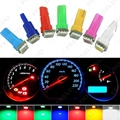 2 Unids Auto DC12V T5 74 2721 5050 Base Cuña de bulbos del Calibrador Dashboards 1-LED Coche Luces LED de $ Number Colores # FD-1259