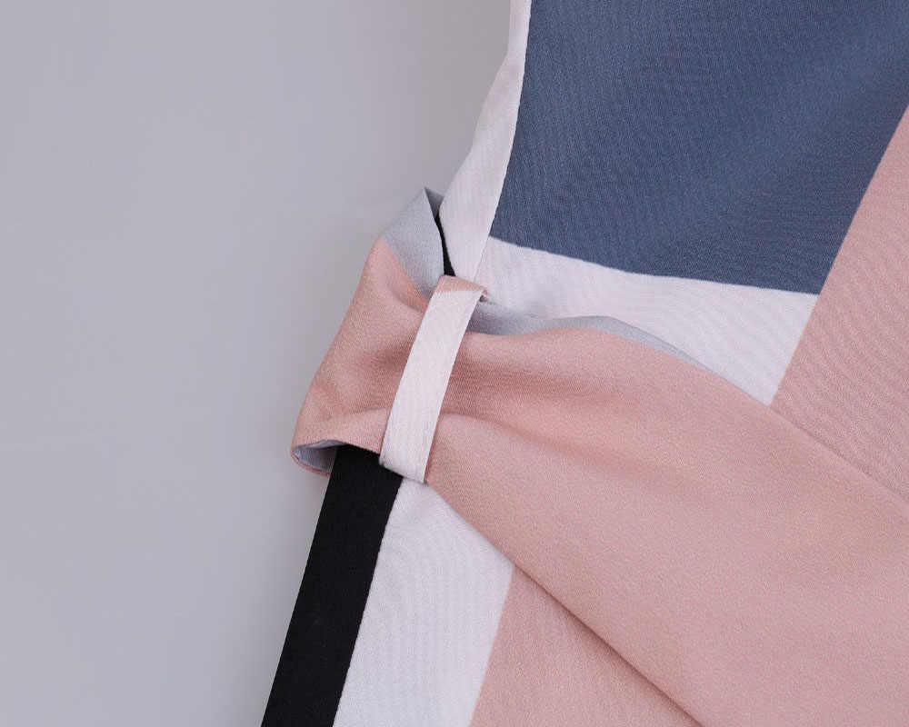Летнее платье женское платье femme ete 2018 сексуальное платье-карандаш с принтом размер пул Вечерние Длинное платье, платье макси v-образный вырез Ретро Сарафан