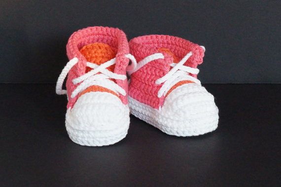 New arrival baby sneakers soft sole shoes boys Girls handmade yarn Crochet shoes Baby Tennis shoes kids cotton First Walkers