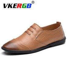 ef37ebb4109c7 VKERGB İtalyan marka erkek ayakkabı rahat lüks marka yaz erkekler  loafer'lar ayakkabı erkek sonbahar
