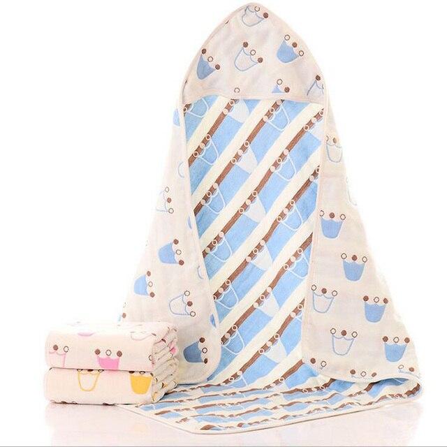 Муслин Детские Прием Одеяла Постельные Принадлежности Для Новорожденных Хлопок Пеленание Новорожденного Обертывание Многофункциональный Конверты Для Новорожденных Размер 80*80 см