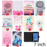 Beautiful Painting PU Leather Stand Cover Case For Asus FonePad 7 FE375CG FE375CXG 7 Inch Universal