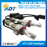 1set 50W 8000LM PH Chip LED Headlight 25W 4000LM H1 H3 H4 H7 H8 H9 H11