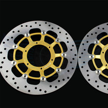 Motorcycle accessories Stainless steel outer ring front Brake Disc Rotor  For Honda CB1300 2003 2004 2005 2006 2007 2008 2009