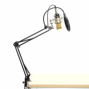 Image 4 - BM800 Condenser Microphone Kit Studio Microphone Vocal Recording KTV Karaoke Clip microfone bm Microphone Mic W/Stand Computer