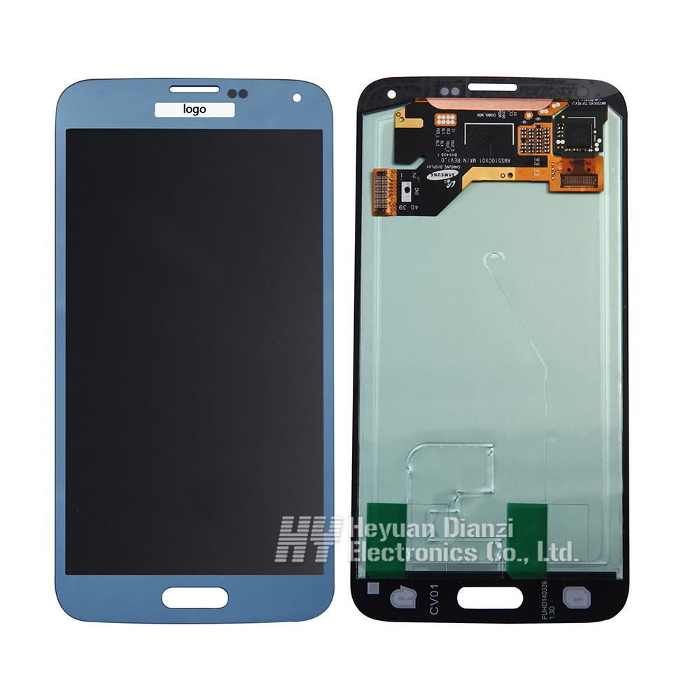 LCD Display Touch Digitizer Screen Glass Assembly for Samsung Galaxy S5 G900A G900T G900V G900P