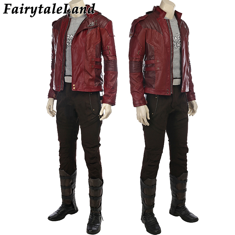 Star Lord cosplay Accessories Guardians of the Galaxy 2 Peter Quill Costume Halloween costumes Star Lord cosplay clothing