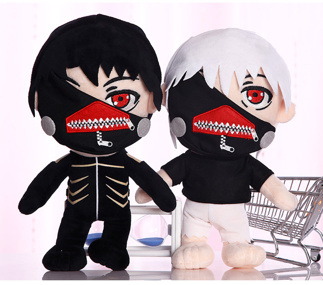 Tokyo Ghoul Kaneki Ken Plush Toys Soft Stuffed Doll