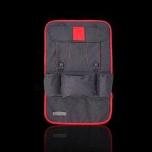 58*36 см Мульти-карман заднем сиденье автомобиля сумка для хранения Организатор дорожный футляр