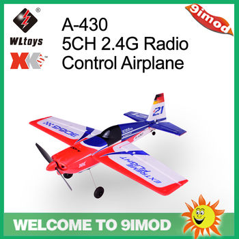 Wltoys XK A430 X4 Transmitter 2.4G 5CH Brushless 3D6G System Airplane Compatible With FUTABA S-FHSS Aircraft RC Glider