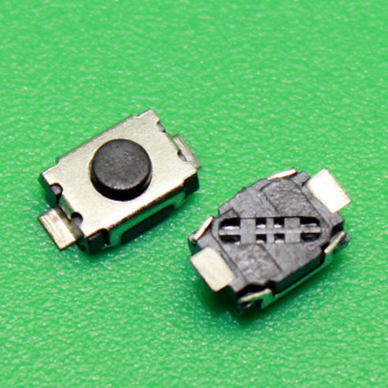 Black Micro Switch Key Buttons Suitable for Peugeot Aletta 2 Welding Points image