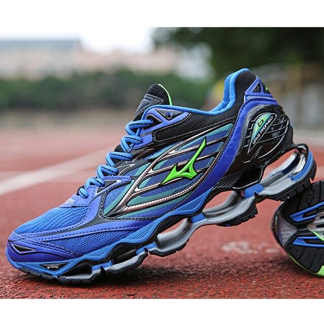 Mizuno Wave Prophecy 6 Professional Мужская обувь Лидер продаж стабильный спортивные кроссовки для Для мужчин синий Штангетки Размер 40-45
