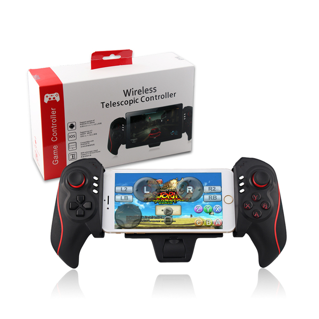 BTC-938 Ipega Wireless Bluetooth Game Controller Gamepad Telescopic Joystick Handle Support 5-10 Inch For Android For IOS System