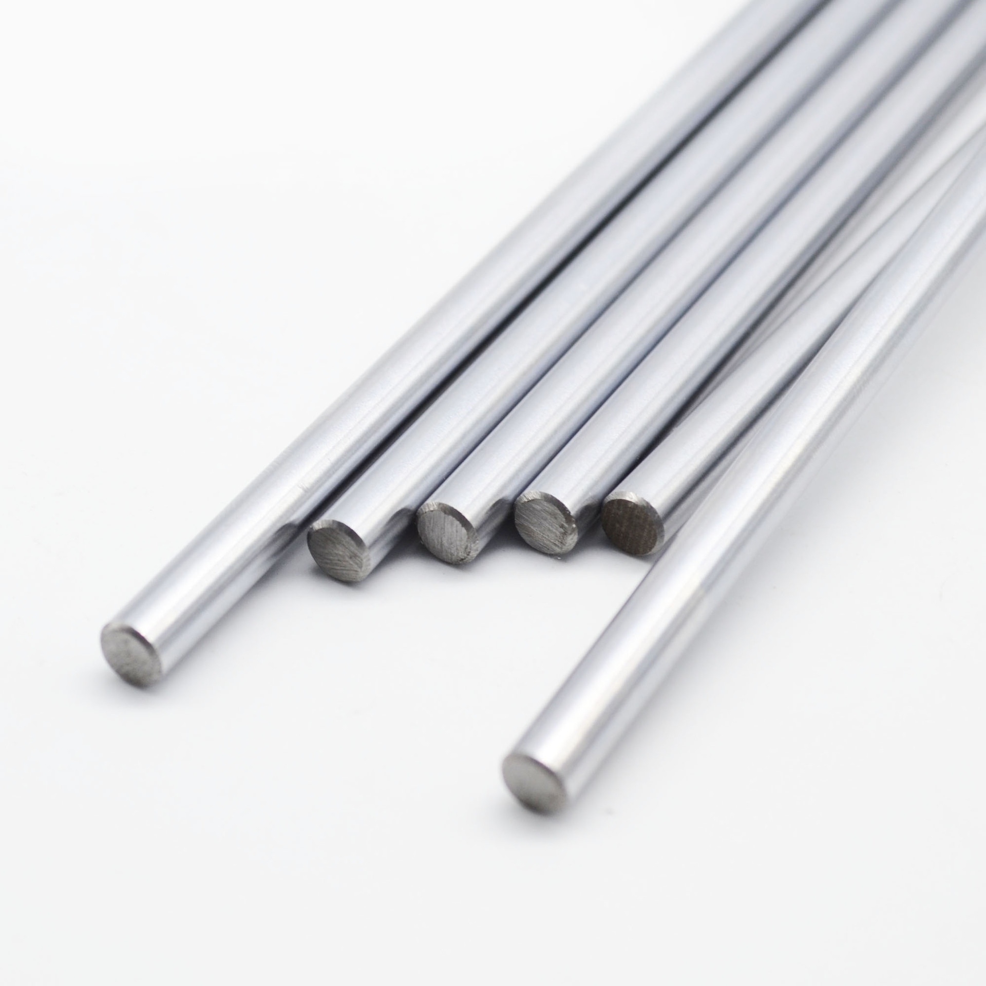 2pcs Diameter 8mm Chromed stainless steel Smooth Shaft Rod Optical Axis 200/300/350/400/500mm for prusa rod 3D Printer Parts CNC