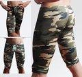 Военная Comourflage Gymwear шорты для мужчин салон брюки 2 шт./лот размер ml XL + бесплатная доставка