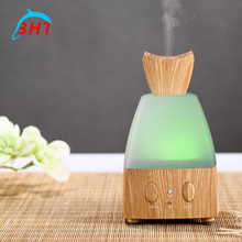 Fast Shipping Bottle Air Diffuser Light Wood Fragrance Aroma Essential Oil Humidifier No Noise Colorful LED Night light Changing