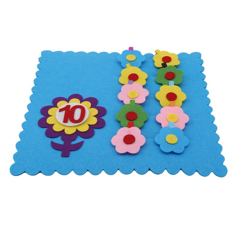 Montessori Materials Math Manual Diy Weave Cloth Early Learning Kids Education Toy Kindergarten Tea - 32942836702
