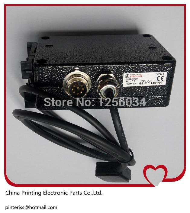 Heidelberg CD102 SM102 SM74 machine parts Photocell Sensor RL12 HDM G2.110.1461/02 1 set heidelberg sm102 cd102 mo machine parts feeder valve for heidelberg 66 028 301f mv 026 847