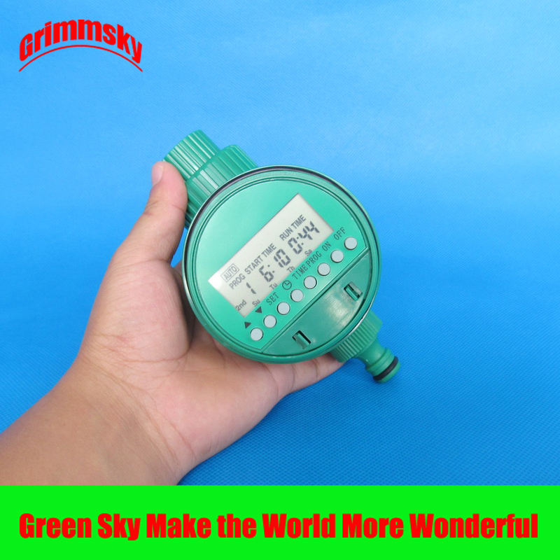 high quality LCD analogue waterproof timer garden