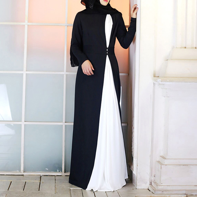 Fashion Boutique Dubai Turkish Kaftan Prayer Outfit Muslim Abaya Long Dress For Woman In