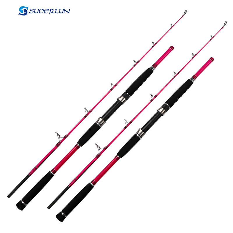 1.7m super light 2 sections carbon fiber portable outdoor spinning pink fishing pole saltwater boat rod jigging rod ucok 1pcs pack 1 65 1 85m double sections heavy pound no 80 heavy jigging fishing boat rod super drag big game type carbon rod