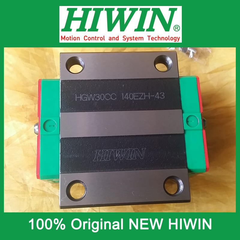 все цены на 1pcs HIWIN HGW30 HGW30CC HG30 New original linear guide block Original HIWIN Linear Guide CNC Parts Stock Good онлайн
