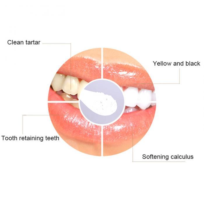 Männer Und Frauen Zähneputzen/Reinigungspulver Entfernen Flecken ...