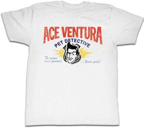 Ace ventura pet detective business card logo adult t shirt funny ace ventura pet detective business card logo adult t shirt funny movie in t shirts from mens clothing accessories on aliexpress alibaba group colourmoves