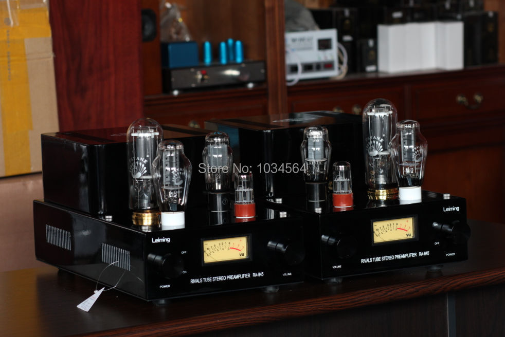 Music Hall high-quality 300B push 845 Single-ended class A large power tube AMP amplifier for HIFI 30W*2 100% brand new 110~240V music hall latest appj assembled fu32 tube amplifier audio single ended class a power amp board hifi diyer free shipping