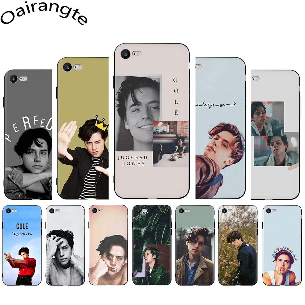 <font><b>riverdale</b></font> cole sprouse Jughead Jones Soft Silicone Phone Cover <font><b>Case</b></font> for <font><b>iphone</b></font> 5 5s SE <font><b>6</b></font> 6s 7 8 Plus X XR XS Max 11 Pro Max image