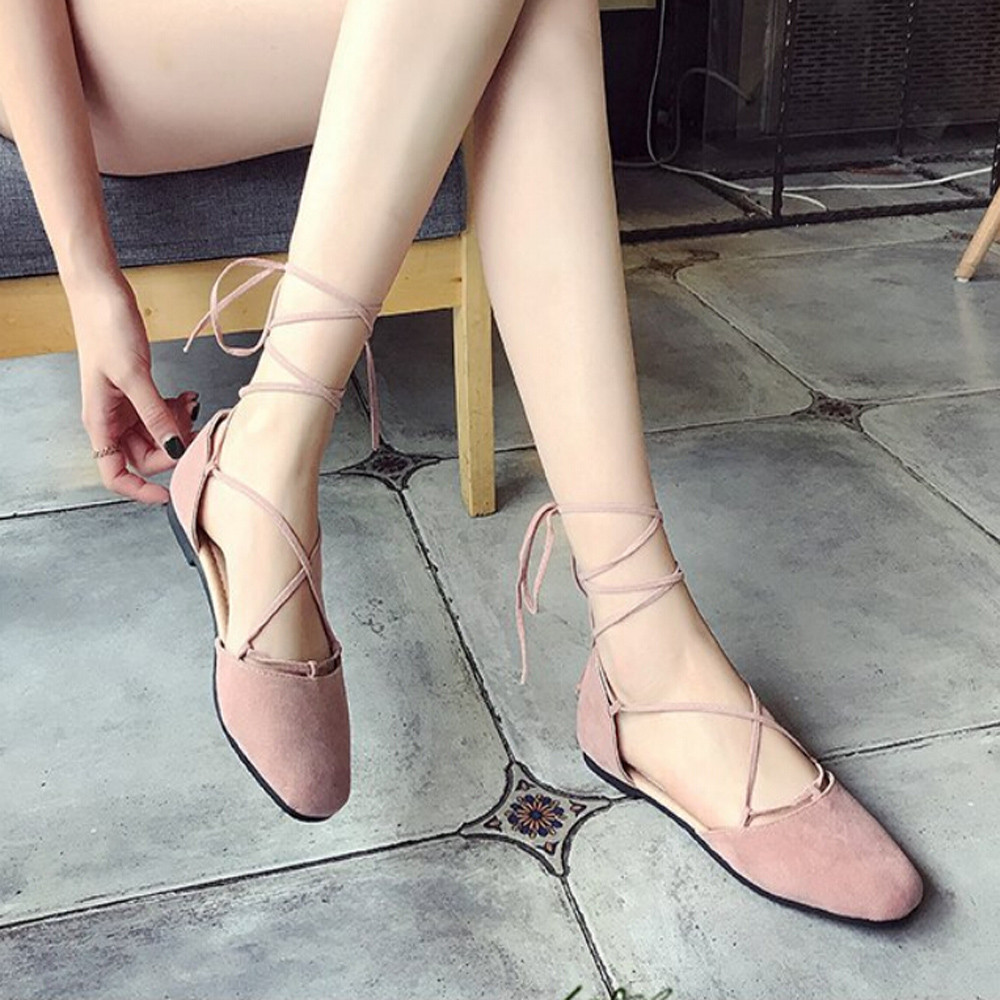 Sangle Peu Croix Bouche Bandage Profonde Sandales Romain Femmes Base Noir Chaussures Plates kaki rose 06xYTwq