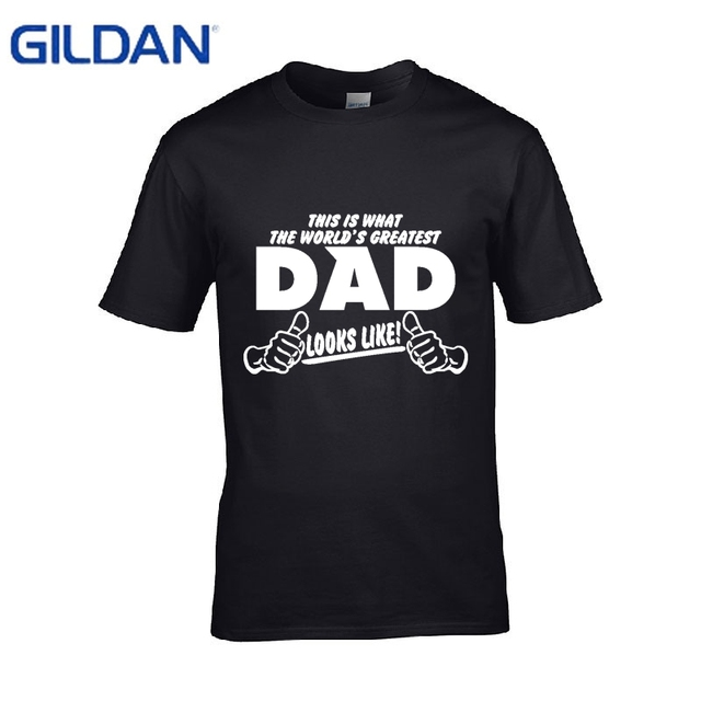 Creature Tshirt 4xl Worlds Best Dad Papa Birthday Gift Daddy Present Pappa Fathers Day Causal Cotton T Shirt Tee Tops