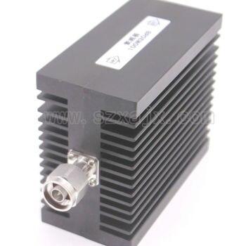 JX High power RF attenuator N male to N female 100W DC-3G-XDB(X:30DB) Heat sinks Free shipping