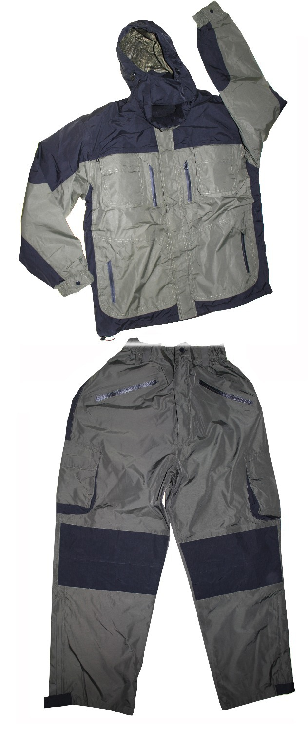 Carp Suit Warm Waterproof Jacket And Straight Trousers