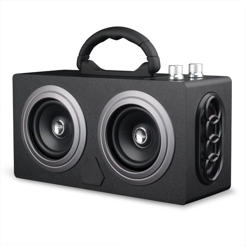 Wireless Portable Wooden Bluetooth Speaker 20W Dual Stereo Dancing Super Bass Subwooofer Outdoor with FM Radio M8 Support SD/TF portable wireless bluetooth speaker stereo hi fi boxes outdoor waterproof support sd tf card fm radio super bass 2x5w