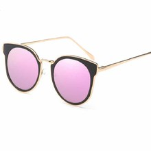 Metal Frame Cat Eye Women Sunglasses Designer Alloy Legs Glasses Fashion Film Retro glasses Elegant Goggle Outdoor Beach Driving