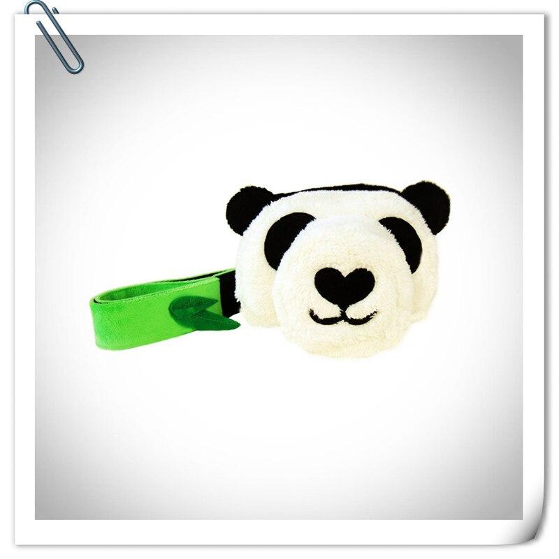 CamDress Slr Saco Da Câmera Pacote Local Encantador Handmade Moda Micro Único Saco Da Câmera Dos Desenhos Animados Panda forma de absorção de choque